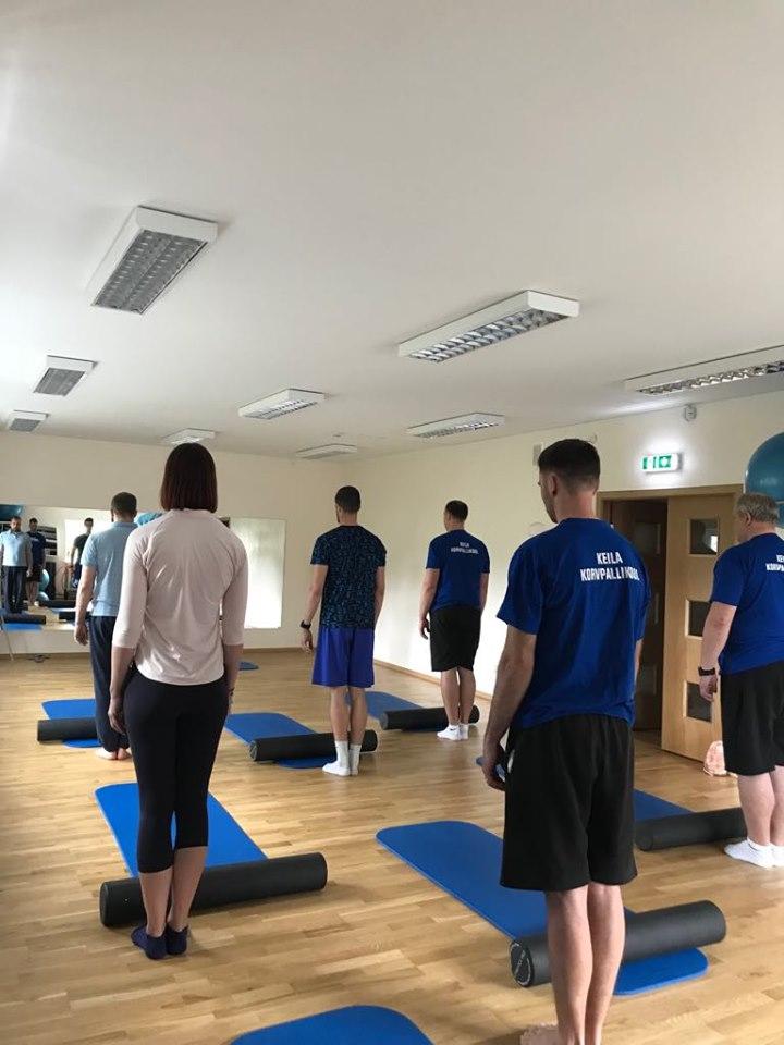 Pilatese rühmatreeningud algavad teisipäevast, 27.08!